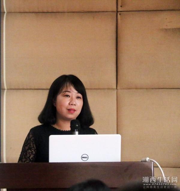 李明博士在讲课